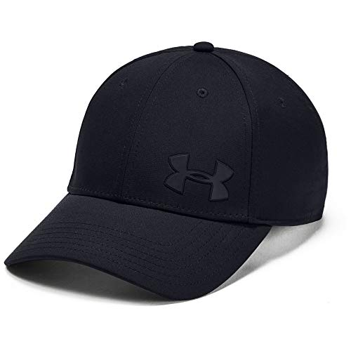 Under Armour Men's Headline 3.0 Cap, Black/Pitch Gray, Medium/Large (Under Armour Hats For Men)