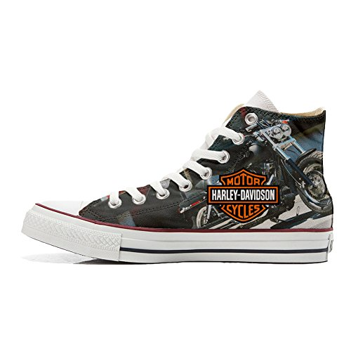 Customized Cycles Coutume Unisex Converse Produit Motor Chaussures Artisanal Bdqt0