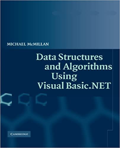 Data Structures and Algorithms Using Visual Basic NET: Michael