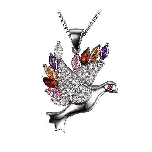 Peace And Dove Necklace - 8