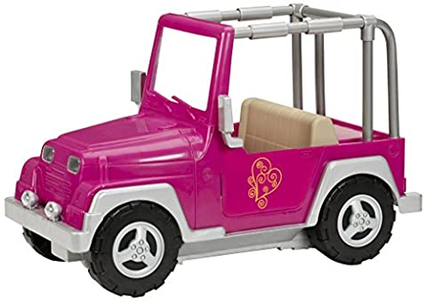 Our Generation 4x4 Jeep (Fuchsia)