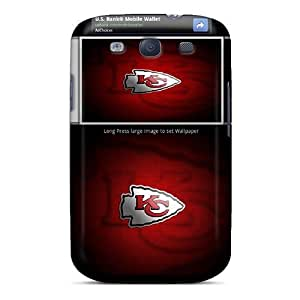 Galaxy S3 Cover Case - Eco-friendly Packaging(kansas City Chiefs)