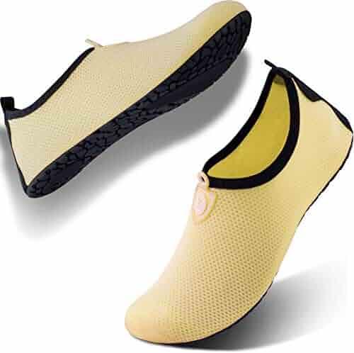 8d194d138727 SIMARI Womens and Mens Water Shoes Quick-Dry Aqua Socks Barefoot for  Outdoor Beach Swim