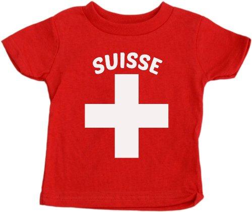 SUISSE Baby T-shirt Cute Swiss Pride Switzerland Baby