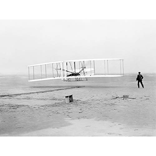 (Daniels First Flight Wright Brothers 1903 Photo Extra Large XL Wall Art Poster Print )