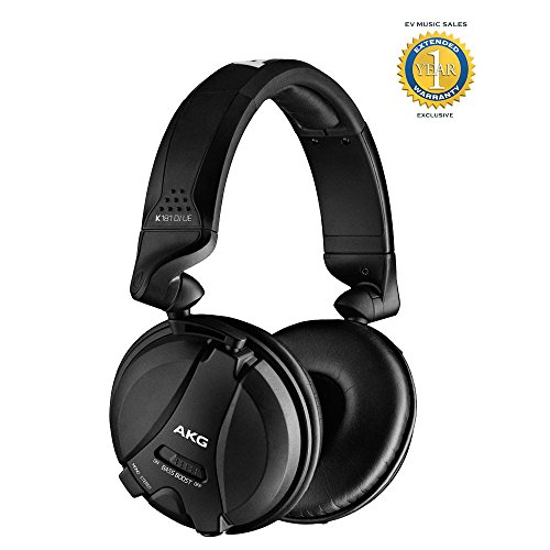 (AKG K181 DJ UE Reference Class DJ headphones with 1 Year Free Extended Warranty)