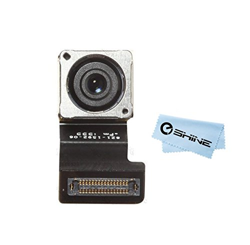 EShine iPhone 5S New Back Main Rear 8MP Camera Cam Module Replacement Repair Part+Cloth