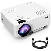 Upgraded DBPOWER T20 LCD Mini Movie Projector +10%...