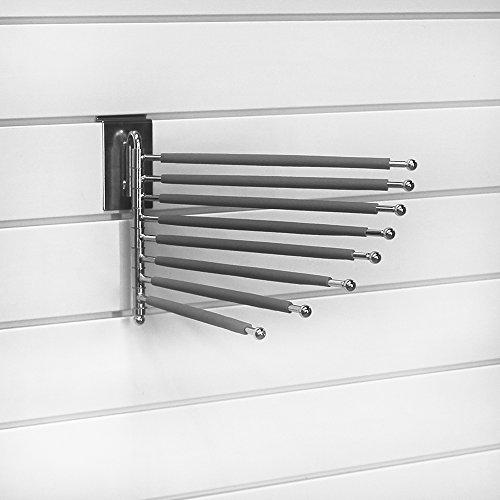 proslat-30018-evolia-pant-rack-with-rubber-sleeves-for-slatwall-chrome