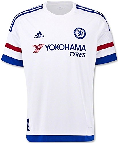 Away Soccer Jersey 2015/16 (White) Youth Medium ()