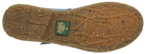 El Naturalista N973-c Crust Leather Arandano/Angkor, Ballerine Donna Blu (Blau (Arandano))