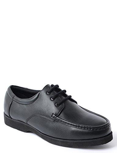 Black Shoe Fit Lace Ampia Uomo 8qvpI