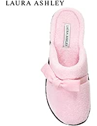 Womens Rugged Memory Foam Bow Scuff Slippers (See Colors and Sizes)