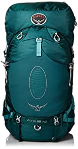 Osprey Women's Aura AG 65 Backpack, Rainforest Green, X-Small