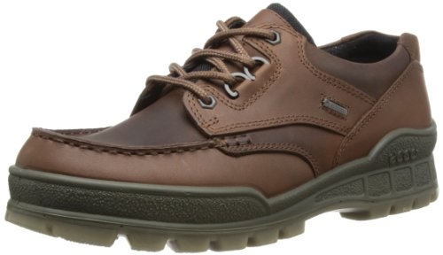 ECCO Men's Track II Low GORE-TEX waterproof outdoor hiking shoe, Bison/Bison, 45 EU (US Men's 11-11.5 M)