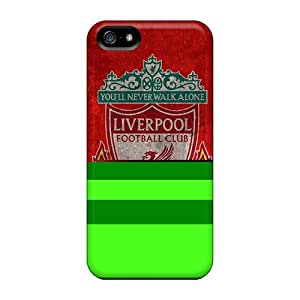 Iphone 5/5s Case Slim [ultra Fit] Beloved Club Of England Liverpool Protective Case Cover