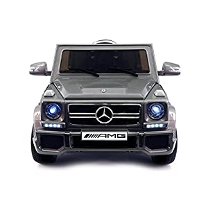 2017 Luxury Mercedes G65 Children's 12V Ride on Toy Car W/ Leather Seat, Rubber Tires, Bonus Safety Feature