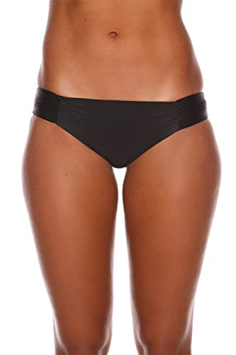 Sheridyn Swim Women's Waterfall Bikini Bottom Black X-Small