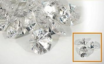Deko Diamanten Groß.Deko Diamanten Aus Acryl Transparent Deko Steine Diamant