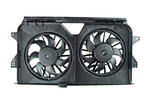 SHOWSEN 620-042 Radiator Cooling Fan Assembly Fit 2005-2008 Chrysler Voyager 2005-2007 Chrysler Town & Country 2005-2007 Dodge Caravan 2005-2007 Dodge Grand Caravan
