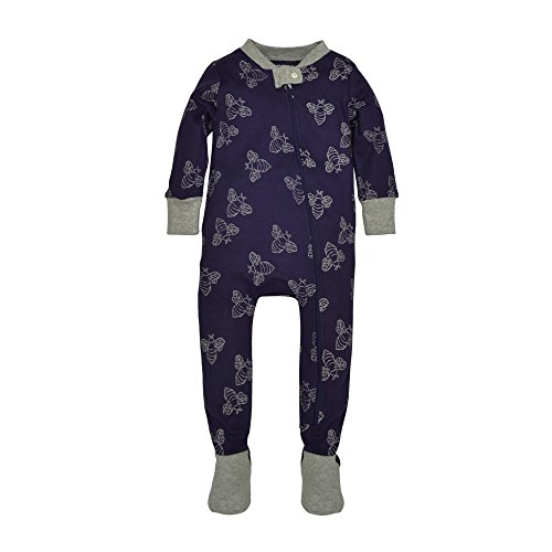 burts-bees-baby-baby-organic-zip-front-sleeper-starry-night-watercolor-bee-18-months