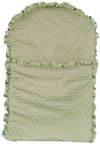 zCush Cozy Chenille Nap Mat, Firry Forest (Chenille Pillow Nursing Newborn)