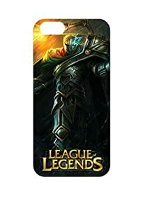 Game League of Legends Viktor,the Machine Herald Iphone 4/4S White Sides Hard Shell Case by eeMuse