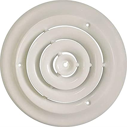 Rocky Mountain Goods Round Ceiling Diffuser With Installation Kit Create A More Consistent Flow Of Air Throughout Room Includes Screws For Install