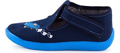 Ladeheid Pantofole Blu Bambino E Bambina Larw003 Marino EH9WD2I
