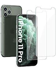 واقي شاشة UGREEN من قطعتين لجهاز iPhone 11 Pro 5.8 بوصات من الزجاج المقسى iPhone 11 Pro واقي شاشة مضاد للخدش مع إطار محاذاة