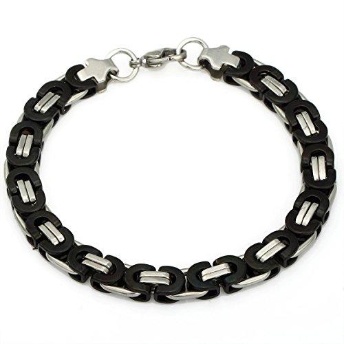 Trendsmax Stainless Bracelet Byzantine 7 11inch product image