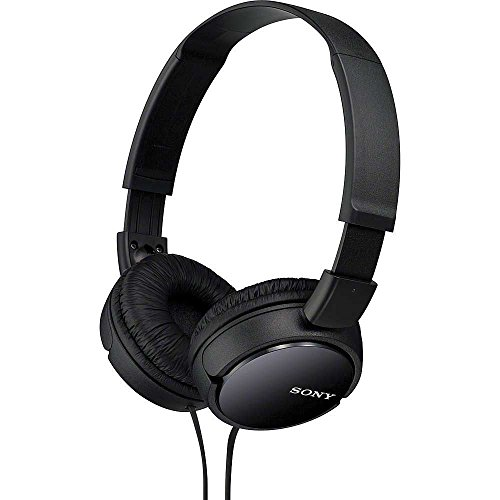 SONY Over Ear Best Stereo Extra Bass Portable Headphones Headset for Apple iPhone iPod / Samsung Galaxy / mp3 Player / 3.5mm Jack Plug Cell Phone (Black) ...
