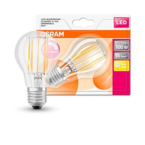 Osram LEDVANCE, 12 W, blanco cálido, 12W Single-Pack