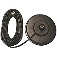 Pro Trucker 5 CB Radio Antenna Magnet Mount With 18 Coax and PL-259 Connector - Black