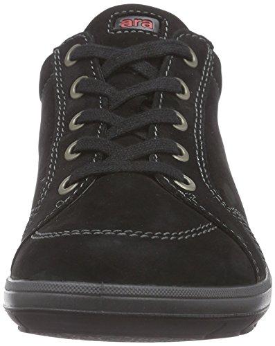 Tokio Donna 01 schwarz Nero Sneakers Ara dqxHOwd