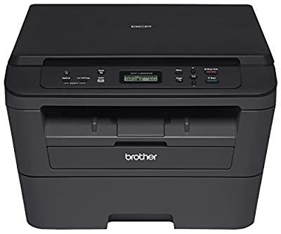Brother DCPL2520DW Wireless Compact Multifunction Laser Printer and Copier, Amazon Dash Replenishment Enabled
