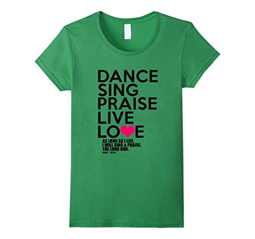 Women's Dance, Sing, Praise - Psalm 104 Christian (Black)...
