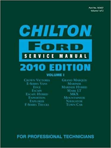 Chilton ford service manual 2010 edition 2 volume set chilton chilton ford service manual 2010 edition 2 volume set chilton ford mechanical service manual 1st edition fandeluxe Image collections