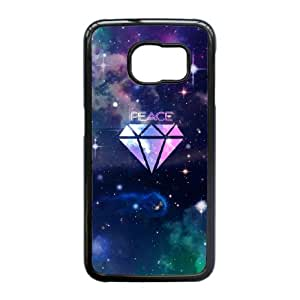 Custom Diamond Case Cover , Creative Designed For Samsung Galaxy S6 Edge