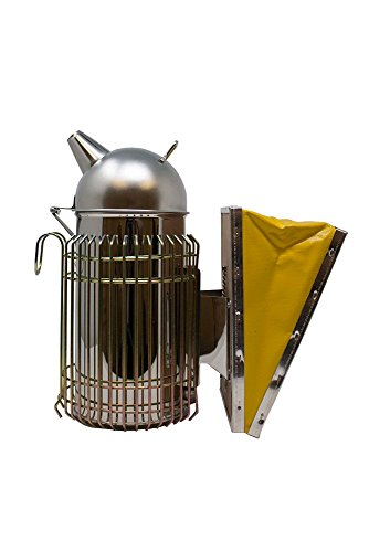 Homestead Essentials Heavy Duty German Design Stainless Steel Smoker