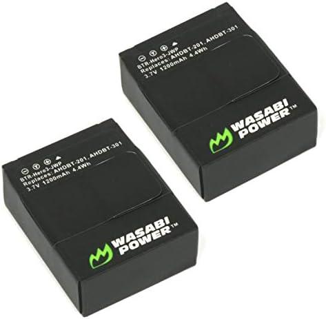 Wasabi Power AHDBT 201 AHDBT 301 AHDBT 302 product image