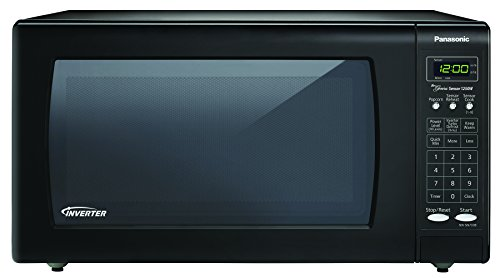 Panasonic NN-SN733B Sensor Microwave Oven with Inverter Technology, 1.6 Cubic Feet, Black image