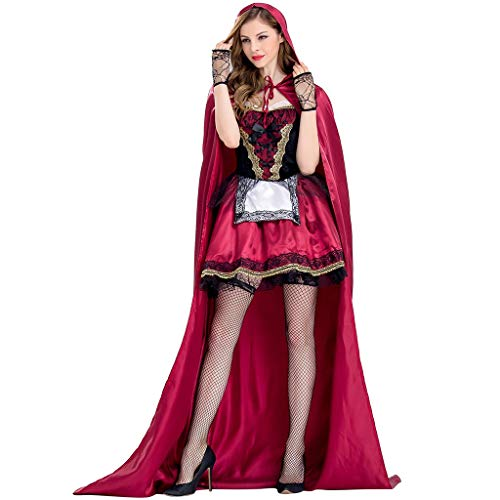Twisty The Clown Costumes Plus Size - Colmkely Women Little Red Riding Hood