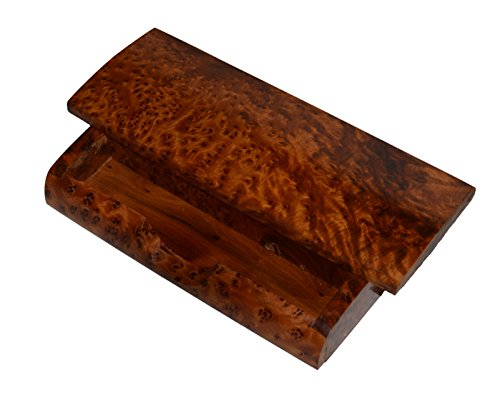 Thuya Wood Moroccan Handcrafted Box with Light Wood Inlaid Imported Top Satifaction Guarranteed