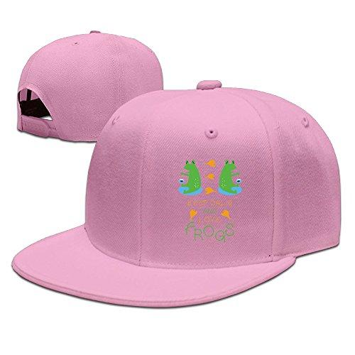 HAILIN TATTOO Crown Keep Calm And Love Frogs Fashion Classic Logo Baseball Cap