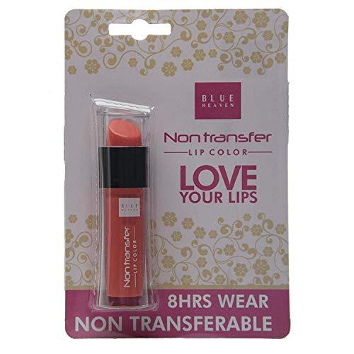 Blue Heaven Non Transfer Lip Color, Sunset Orange, 2.8ml