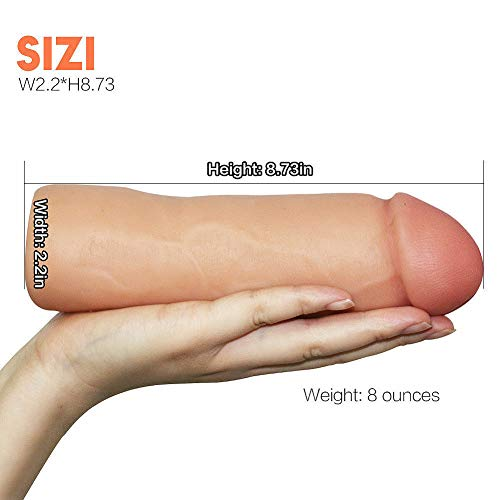Male Extension Extender Sleeve Cage Sheath Girth Enhancer Enlarger Pleasure for Couples