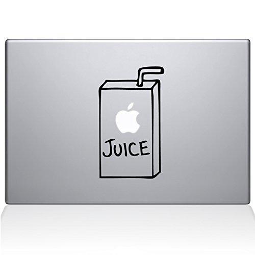 The Decal Guru 1008-MAC-11A-BLA Apple Juice Vinyl Sticker, 11