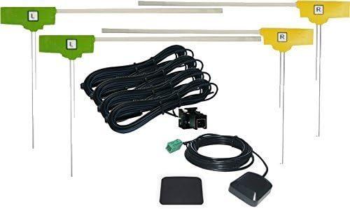 AVN-Z04i 対応 GPSアンテナ + 地デジ フィルム アンテナ VR1 タイプ 4ch セット 【低価格高品質タイプ】 【イクリプス】