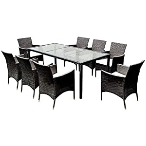418edIukNdL._SS300_ Wicker Dining Tables & Wicker Patio Dining Sets